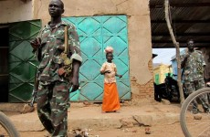 Sudanese Army soldiers stood guard Thursday in Southern Kordofan, which a 2005 pact granted special status to seek autonomy.