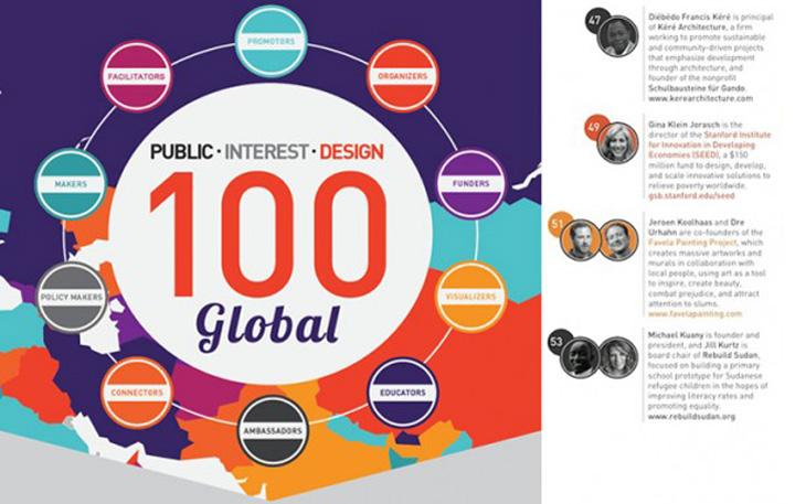 Named Public Interest Design Global Ambassadors - Rebuild South Sudan