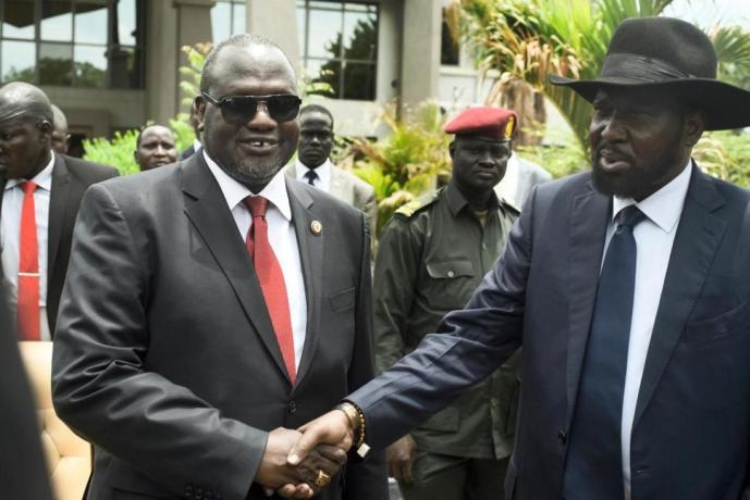 Machar and Kiir